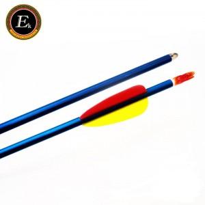 Стрела для лука алюминиевая Ek 29'' голубая (D-001K)