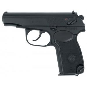 Списанный охолощенный пистолет Макарова P-411 (10ТК) кованый затвор