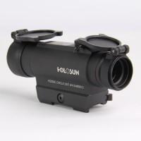 Коллиматорный прицел HOLOSUN Infiniti, солн.батарея, 2 NV-реж., автооткл., б/с на Weaver (HS502C)
