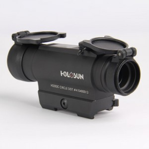 Коллиматорный прицел HOLOSUN Infiniti, солн.батарея, 2 NV-реж., автооткл., б/с на Weaver