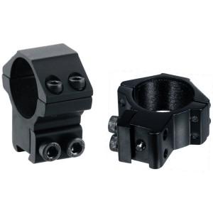 Кольца Leapers AccuShot 30 мм на призму 10-12 мм, средние (RGPM-30M4)