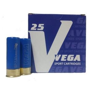 Патрон спортивный 12 калибра дробь №7 28г «VEGA Sporting» (Азот)