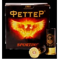 Патрон к12х70-7,5 20г Sporting  (Феттер)