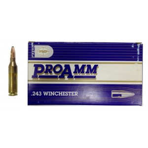Патрон PMP .243Win SP ProAmm 6,84г