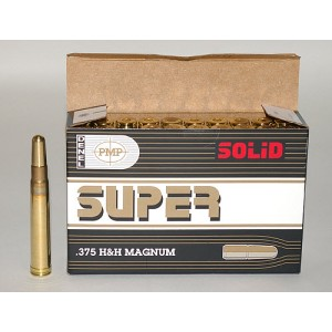 Патрон PMP .375H&H Mag Solid 18,53г
