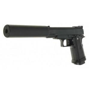 Страйкбольный пистолет Galaxy G.10A Colt 1911 PD mini