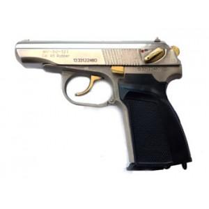 Травматический пистолет МР-80-13Т никель, нитрид титана