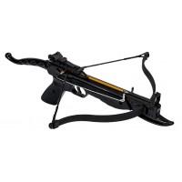 Арбалет-пистолет рекурсивный СКАУТ (Ek Cobra Aluminum), черный (усил.натяж. - 36кгс) (CR-039BK)