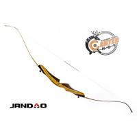 Лук рекурсивный JANDAO Beginner 68'', бел.плечи, разборный (усилие натяж. - 17кгс; 38lbs) (SZXL-68/38 White)