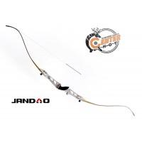Лук рекурсивный JANDAO Олимпик 68'', серебристая рук., разборный (усилие натяж. - 13кгс; 30lbs) (TZXL-68/30 Silver)