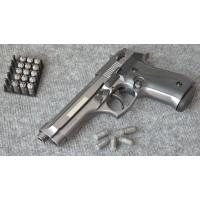 B92-СО списанный охолощенный пистолет к.10ТК, фумо/графит (Beretta 92)