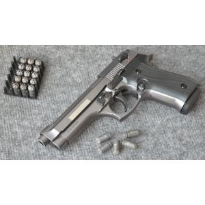 Списанный охолощенный пистолет B92 KURS (10ТК) фумо/графит