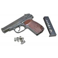 МАКАРОВ-СО списанный охолощенный пистолет к.10ТК (бакелитовая рукоятка)