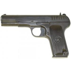 Списанный охолощенный пистолет ТТ