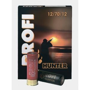 Патрон охотничий 12 калибра дробь №0000 32г Profi-Hunter (Азот)