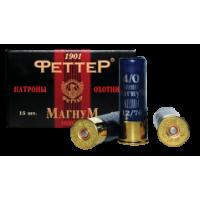 Патрон к12х76-3 44г (Феттер)