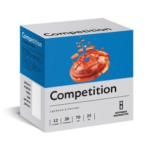 Патрон спортивный 12 калибра дробь №7,5 28г Competition (Главпатрон)