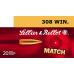 Патрон Sellier&Bellot .308Win HPBT 11,7г