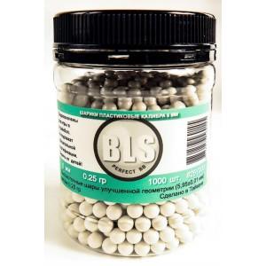 Шарики пластиковые 6 мм 0,25 г 1000 шт. BLS