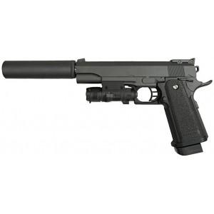 Страйкбольный пистолет Galaxy G.6A Colt 1911