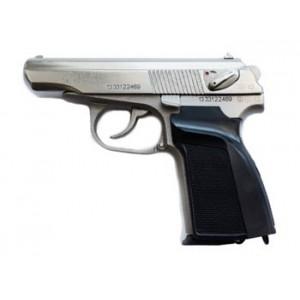 Травматический пистолет МР-80-13Т никелированный