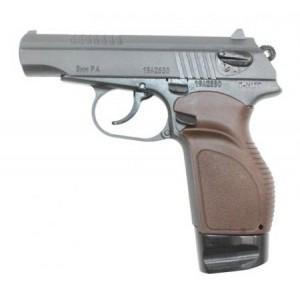 Травматический пистолет П-М17Т с рукояткой Дозор и удлинителем магазина